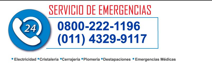 SERVICIO DE EMERGENCIAS 24 H PARA HOGAR Y COMERCIO